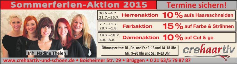 2015 Sommeraktion