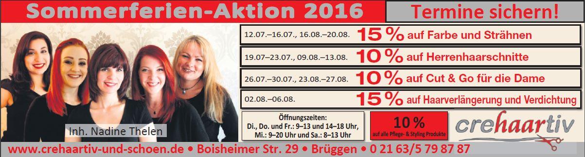 2016 Sommeraktion